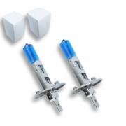 2x Ampoules H1 Effet Xenon - Super White 5000K
