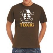 Touchlines T Camiseta para hombre, tamaño XL, color marrón