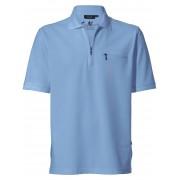HAJO Pflegeleichtes Polo-Shirt 1/2-Arm HAJO blau