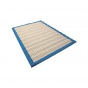 BELLISSIMO TAPPETO RUSTICO misure 160X230 cm COLORE 3101 NAT/BLUE DIS. 1614