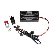 Battery Holder, 4 Cell w/ On-Off Switch