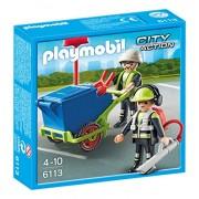 Playmobil - 6113 - Equipe d'entretien de voirie