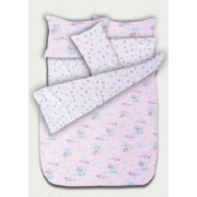 Бебешко спално бельо - Мечета розово II