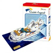 3D three-dimensional puzzle cruise ship (japan import)