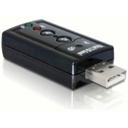 DeLock Sound Adapter Virtual 7.1 USB2.0 61645