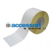 40.000 Etichette 100mmx40mm carta Vellum - Core 76mm- Diametro esterno 150mm