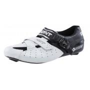 Bont Riot Schuhe Men white/black 43 Rennrad Schuhe