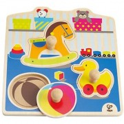 Hape - My Toys Wooden Knob Puzzle