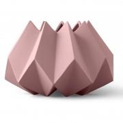 Menu Folded Vase Low Taupe