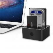 TeckNet UD037 USB 3.0 Hard Drive Docking Station - докинг станция за твърди дискове с две гнезда и USB 3.0