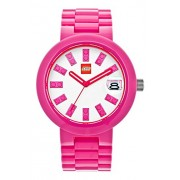 Lego Brick orologio, rosa