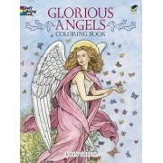 Glorious Angels Coloring Book by Lady Green