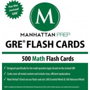 500 GRE Math Flash Cards by Manhattan Prep