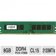 8GB DDR4 PC17000 2133MHz Crucial Retail CT8G4DFD8213 memoria