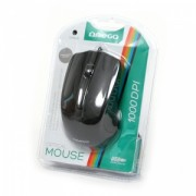 Mouse Cu Fir Omega OM-05BL Optic Negru