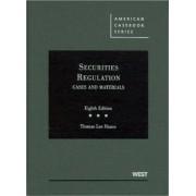 Securities Regulation by Thomas Hazen