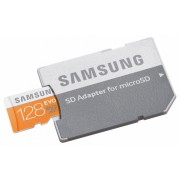 Samsung EVO microSDXC 128 GB + adaptor (MB-MP128DA/EU)