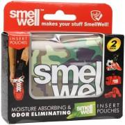 SmellWell Cuscinetti Anti Odore - Color Militare - 1 paio