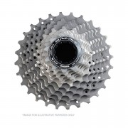 Shimano Dura-Ace CS-9000 Bicycle Cassette - 11 Speed Large Ratio Grey 12-28T