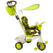 Vital Innovations - Passeggino a triciclo per bambini Smart Trike Dream Touch - colore: Verde/Nero