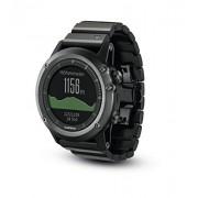 Garmin Garmin Fenix 3 GPS - Pulsómetro - Performer Bundle cristal de zafiro gris/negro 2016