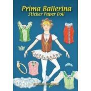 Prima Ballerina Sticker Paper Doll by Barbara Steadman