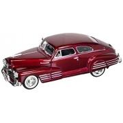 1948 Chevy Aerosedan Fleetline Red 1:24 Diecast Car Model
