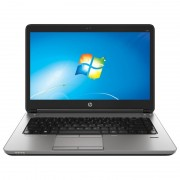"Notebook HP ProBook 640 G1, 14"" Intel Core i5-4210U, RAM 4GB, SSD 128GB, Windows 7 Pro, Negru"