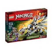 LEGO Ninjago Titanium Dragon Toy