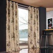 """Vorhang """"Hubertus"""", 1 Vorhang, 132 x 245 cm - Taupe/Beige"""
