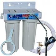 Purificateur d'eau sous évier 2 niveaux - Compteur en option