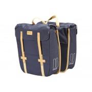 Basil Portland Doppeltasche slimfit dunkelblau Gepäckträgertaschen