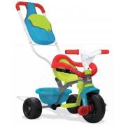 Smoby tricicletă de copii Be Move Confort Bleu 740402 turcoaz-verde