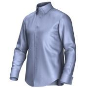 Maatoverhemd blauw 52114