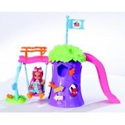 ZAPF CREATION speelplaats met pop, »mini CHOU CHOU«
