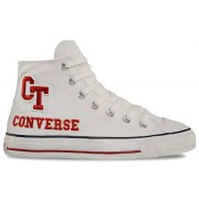 Tenis Converse All Star CT AS Print College Hi White - 41