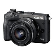 CANON EOS M6 Zwart + 15-45mm f/3.5-6.3 IS STM Zwart
