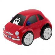 Chicco - Coche Turbo Touch Fiat 500, color rojo (00007331070000)