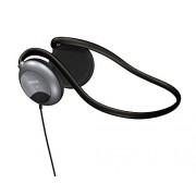 Maxell NB-201 Stereo Line Neckband Headphones - Silver (190316)