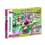 "Clementoni ""Minnie Mouse with Daisy"" Puzzle (60 Piece), 13.19 x 9.25"""
