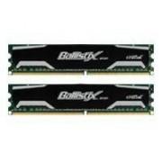 Ballistix Sport - DDR2 - 4 Go : 2 x 2 Go - DIMM 240 broches - 800 MHz / PC2-6400 - CL5 - 1.8 V - mémoire sans tampon - non ECC