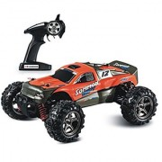 illuOkey RC Car SOMMON SWIFT High Speed 32MPH 4x4 Fast Race Cars1:24 RC Scale Rtr Racing 4WD Electric Power Buggy W/2.4G Remote Control Off Road Cross Country Vehicle Orange