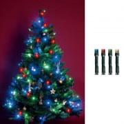 Beltéri karácsonyfa fényfüzér 200 db multi LED KI 200 LEDM