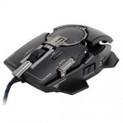 Myš Zalman ZM-GM4 hráčska, laserová, 8200DPI, program. 10tl., čierna, USB, mechanical design