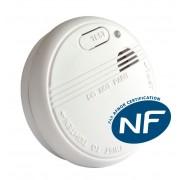 Détecteur de fumée NF et EN14604 Sym3200 - Symex
