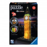 Ravensburger 3D Puzzel - Big Ben Night Edition