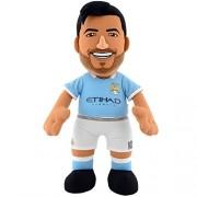 """BLEACHER Creatures - Peluche bc10replsa/Mac (""""Manchester City FC Sergio Agüero BLEACHER Creature Figura de peluche"""