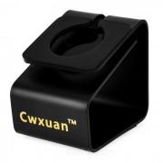 Cwxuan reloj de carga / Mostrando Holder para APPLE RELOJ + Mas - Negro
