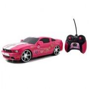 Jada Toys Girlmazing 1:16 R/C Assortment 2012 Ford Mustang Boss 302- M. Vehicle Hot Pink