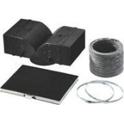 Siemens LZ53450 accesorio para artículo de cocina y hogar - Accesorio de hogar (Negro, Gris, Color blanco, Campana extractora, Kit)